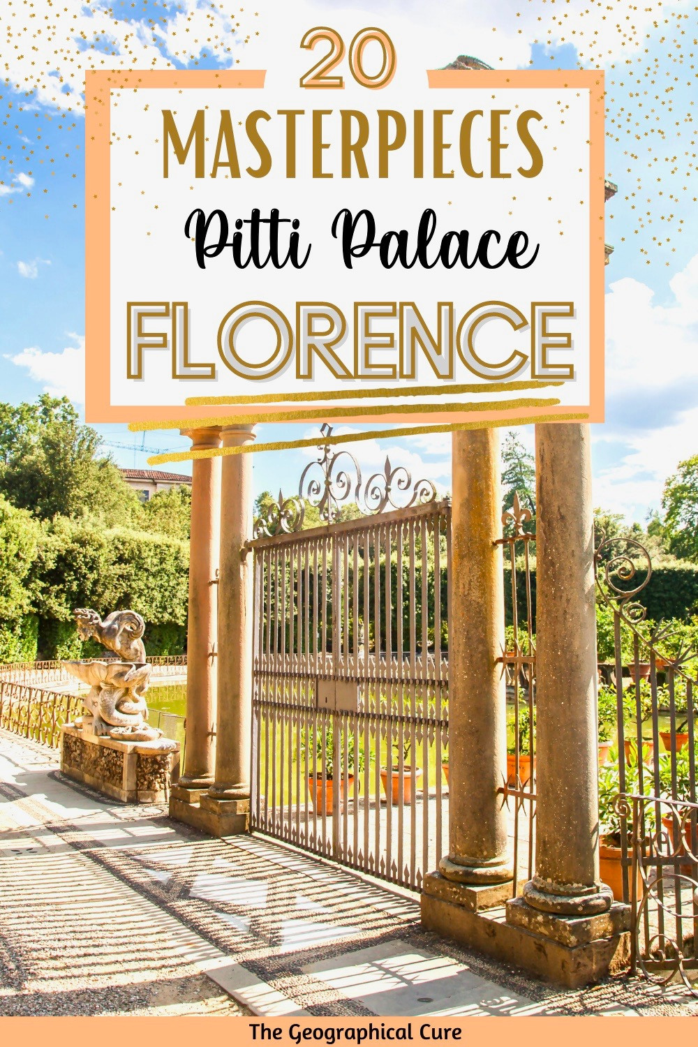 ultimate guide to visiting Florence's Pitti Palace