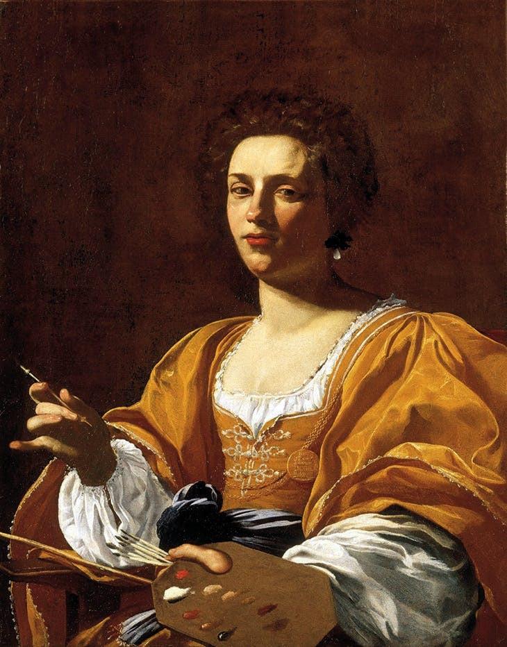 Simon Vouet, Portrait of Artemisia Gentileschi, c. 1623–26),