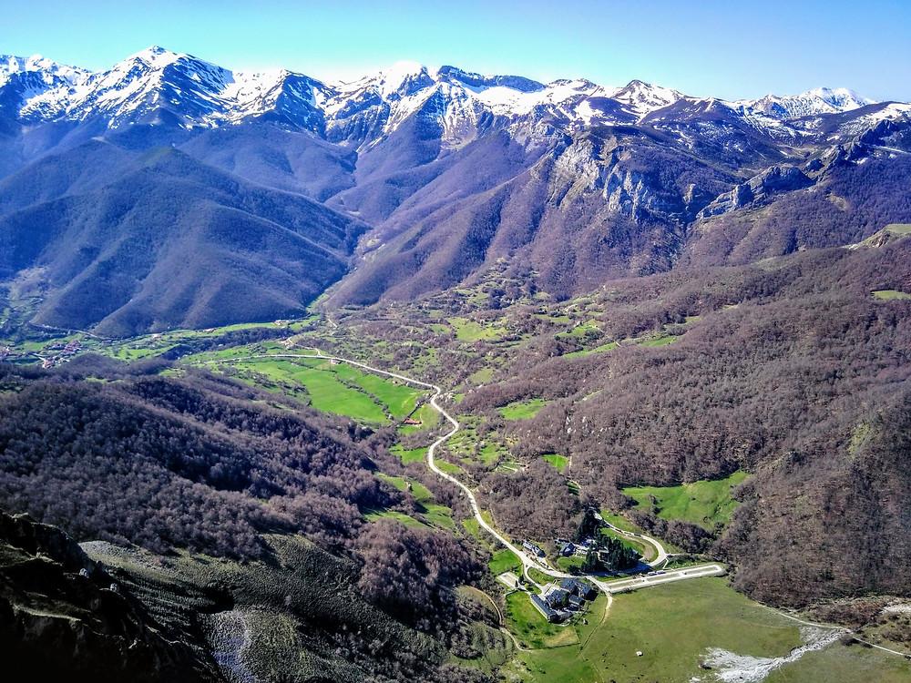 Fuente De in the Picos de Europe National Park