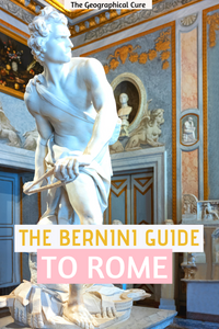 The Bernini Guide to Rome -- the complete guide to finding Bernini's artworks throughout Rome Italy.