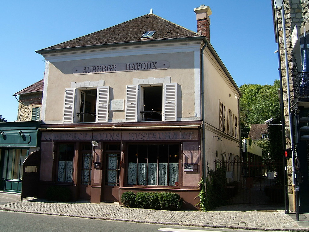 the Ravoux Inn, now a national monument in Auvers-sur-Oise