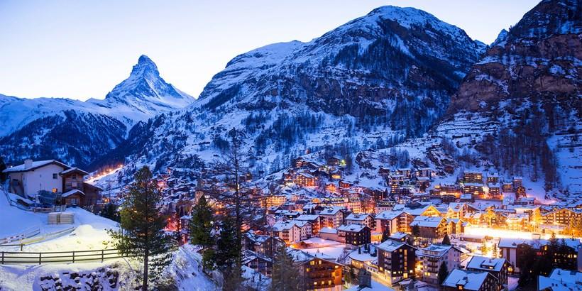 Zermatt Switzerland, filming location for The Night Manager