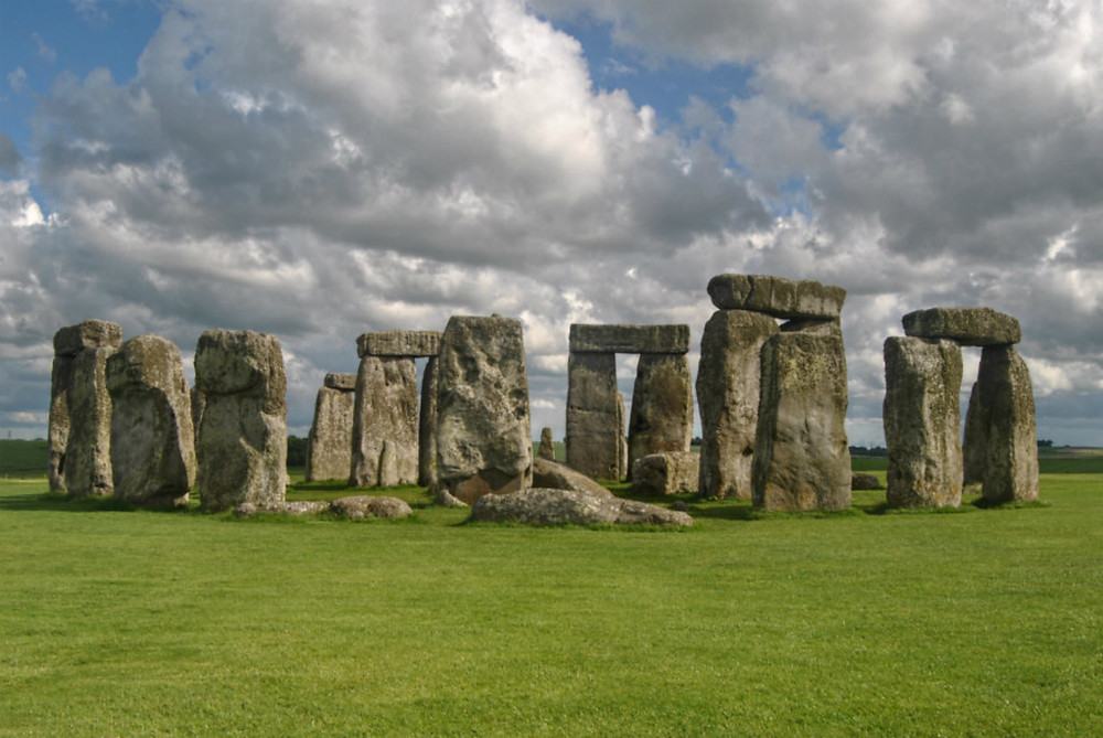 the megaliths of Stonehenge