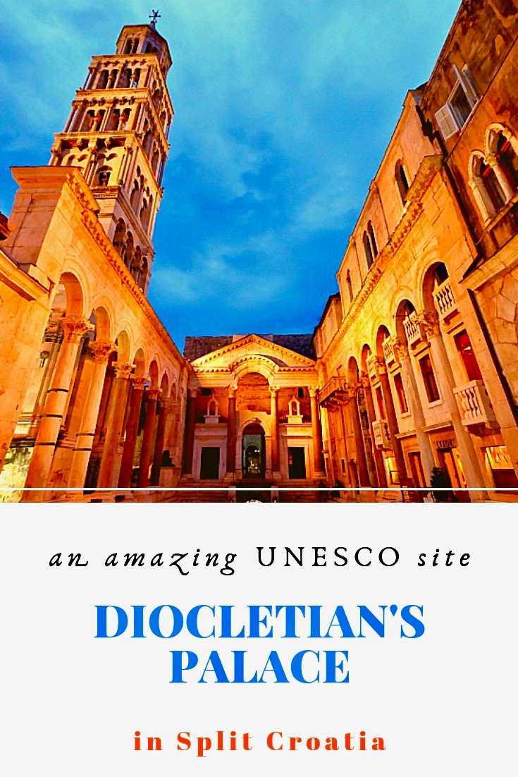 Diocletian's Palace in Split Croatia, an amazing UNESCO site