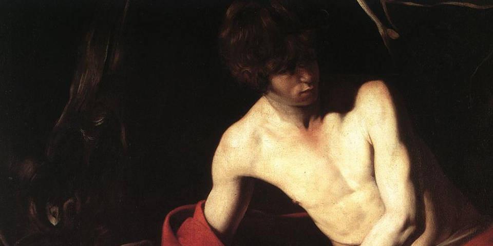 Caravaggio, St. John the Baptist, 1603