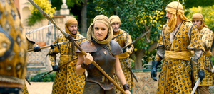 the fight scene between the Sand Snakes and Jaime and Bronne near the Carlos V Pavilion
