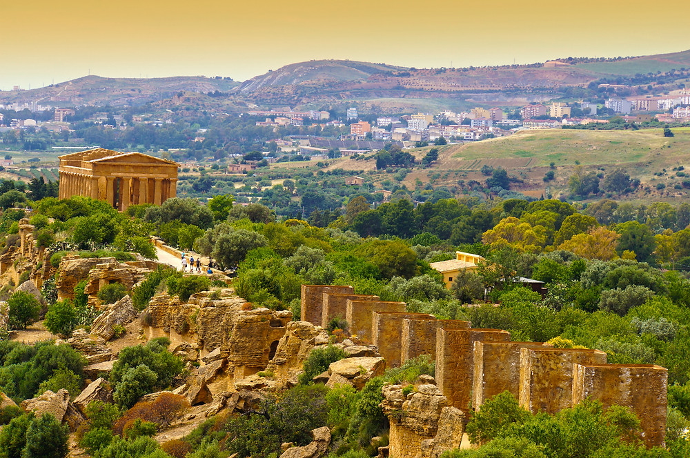 Temple of Concord in Sicily's Valley of Temples