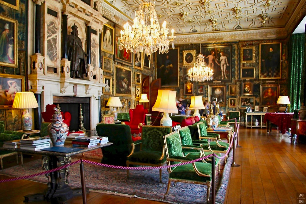 King James Drawing Room in Hatfield House