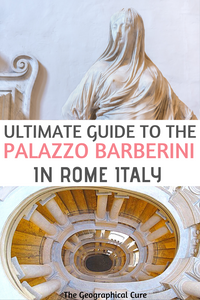 ultimate guide to visiting the Palazzo Barberini in Rome Italy