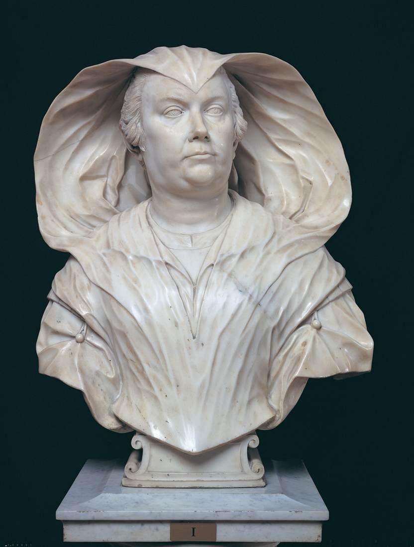 Alessandro Algardi, Bust of Olympia Maidalchini Pamphilj, 1646-47