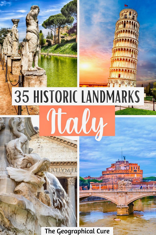 35+ Historic Landmarks in Italy