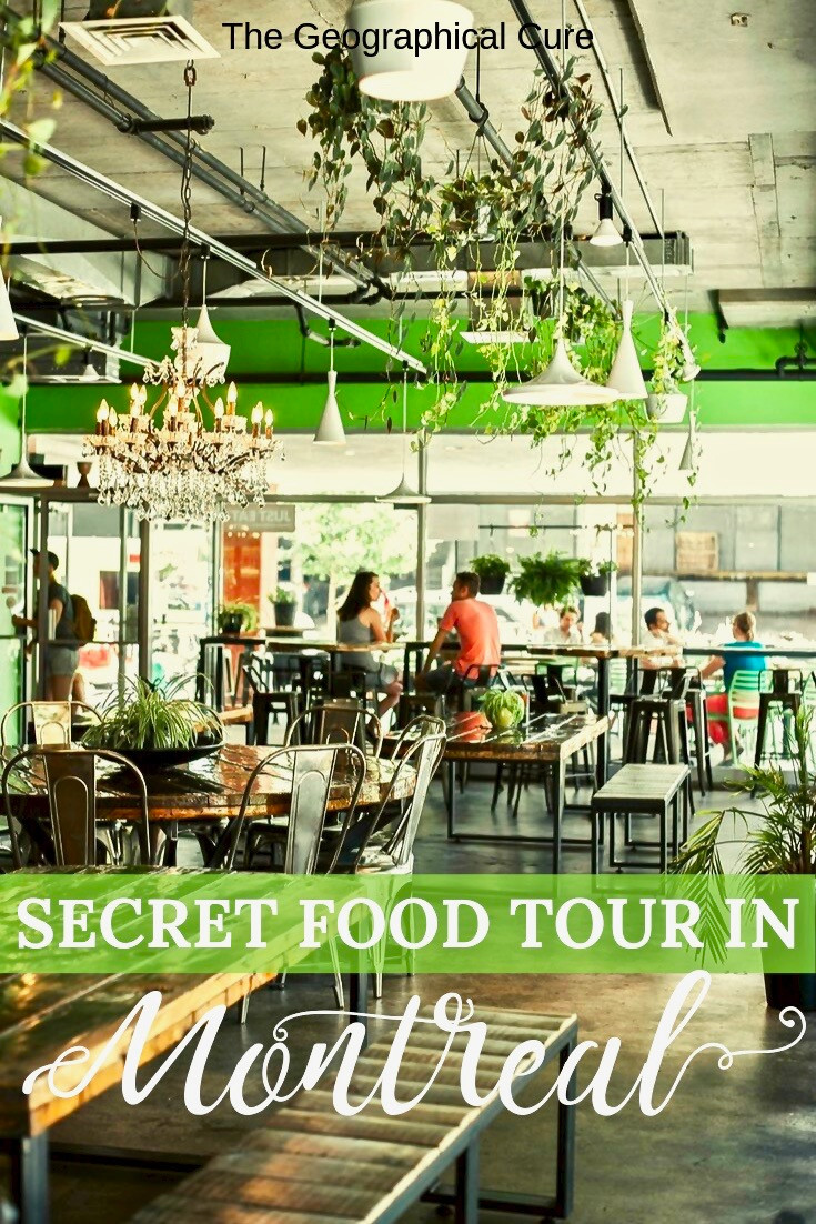An Amazing Secret Food Tour in Montreal Canada