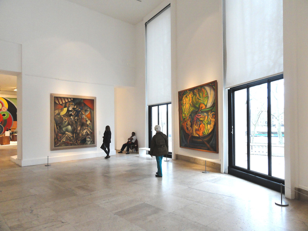 the Museum of Modern Art in Paris