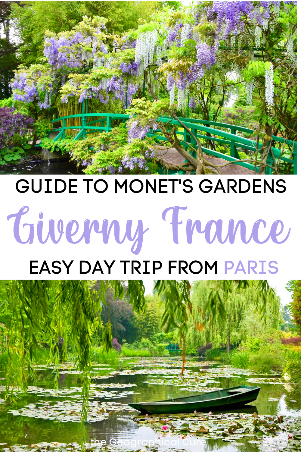 Guide to Monet's House and Garden in Giverny France