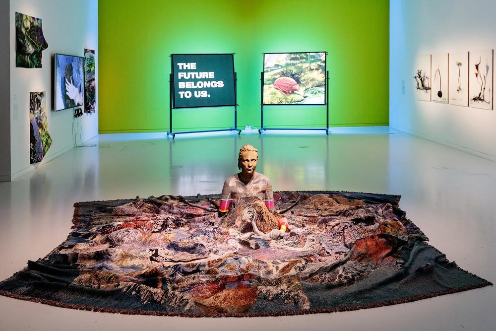 exhibit at the MAAT Museum in Belem