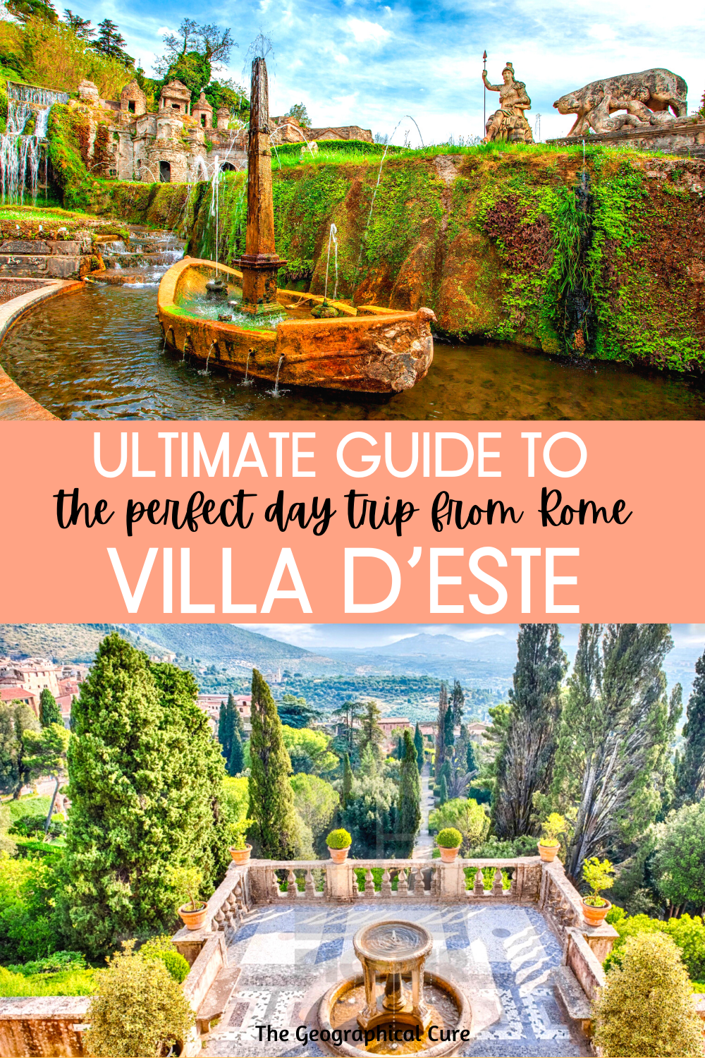 Villa d'Este: A UNESCO-Listed Day Trip From Rome Italy