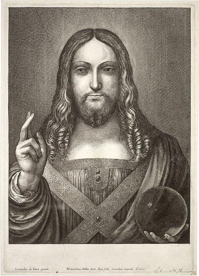 1650 Wenceslaus Hollar etching