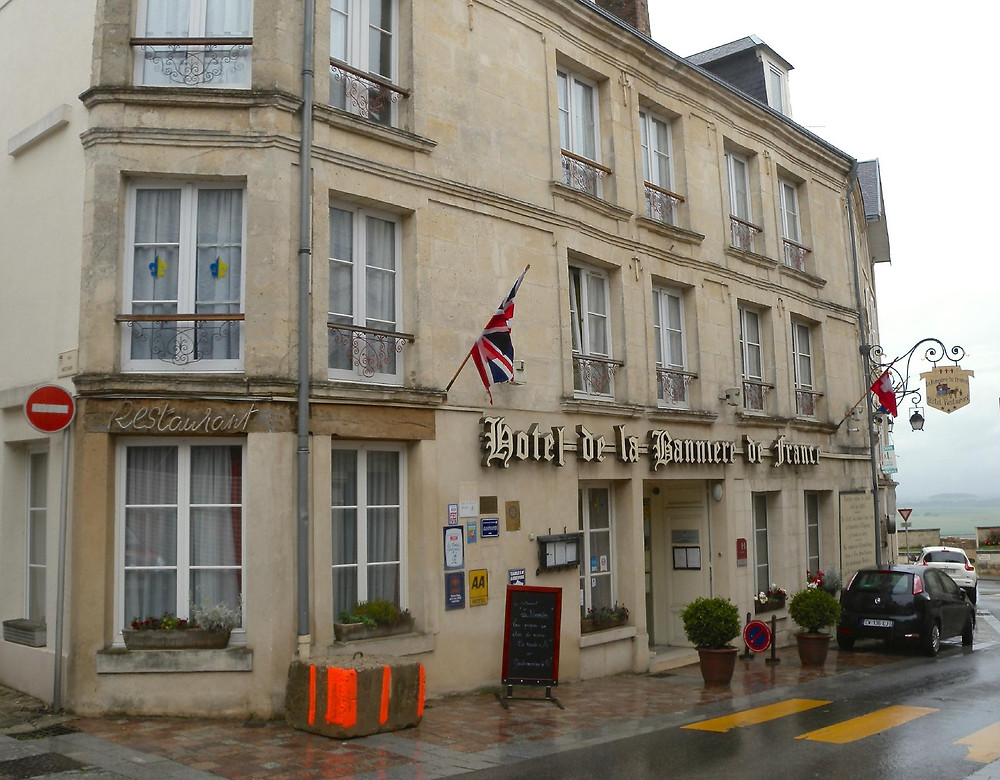 Hotel de la Banniere, an authentic period piece hotel in the old medieval town of Laon France