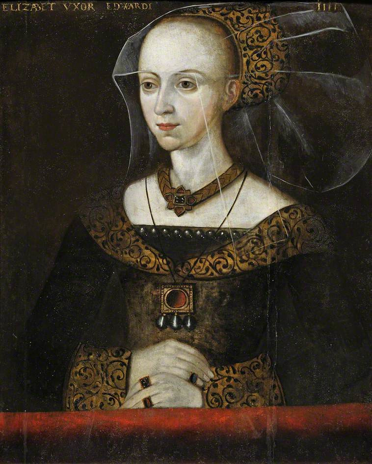 Portrait of Queen Elizabeth Woodville, 1472, University of Cambridge
