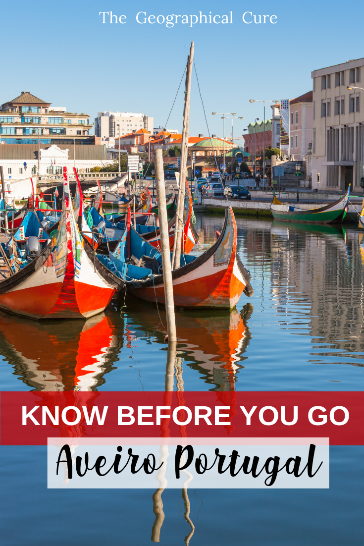 Know Before you go to Aveiro Portugal, a popular day trip from Porto