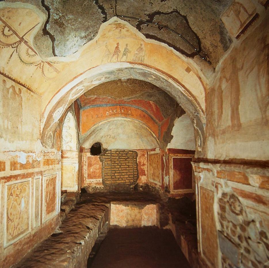 Catacombs of Priscilla in Rome