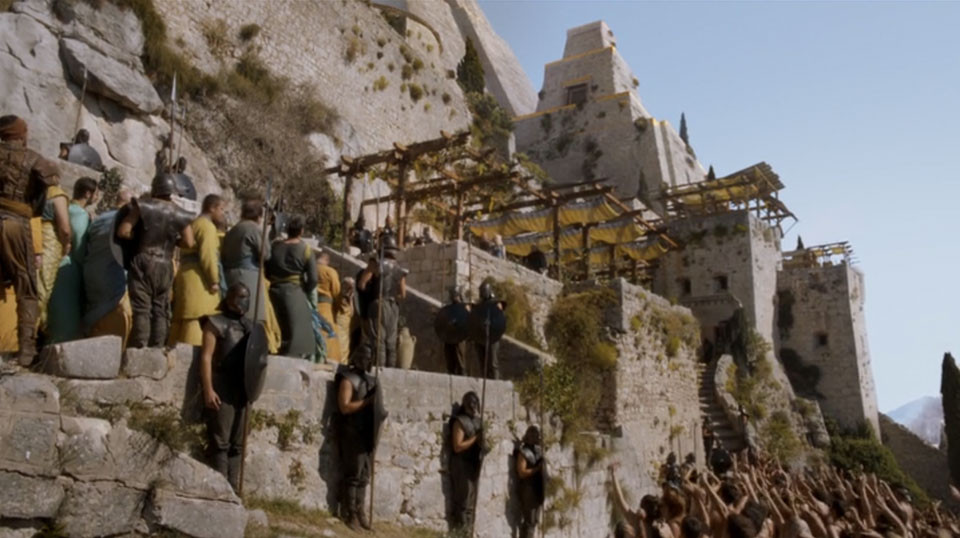 Klis Fortress doubles as Mereen in Game of Thrones