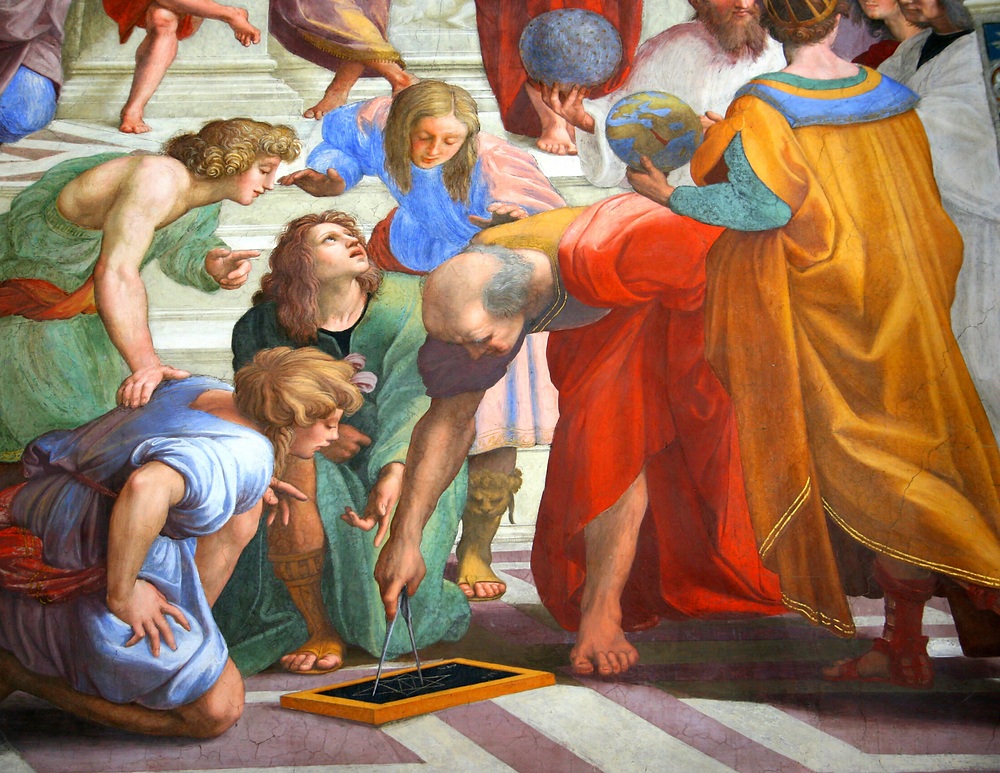 detail of School of Athens