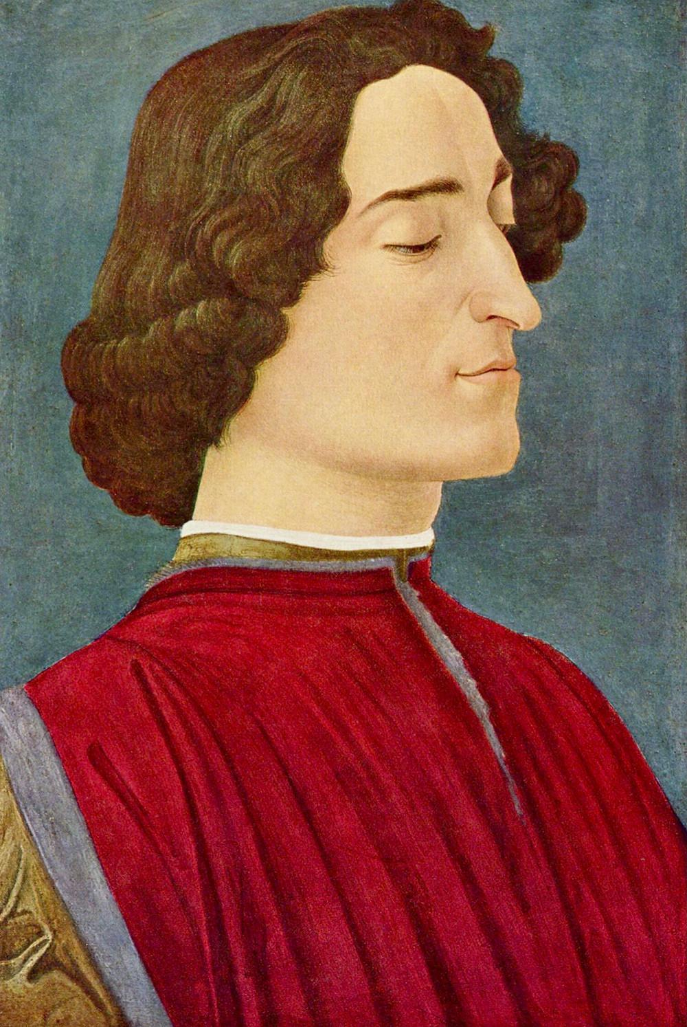 Botticelli, Portrait of Giuliano de Medici, 1476-77 -- in DC's National Gallery