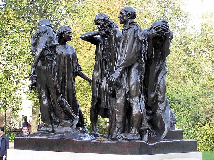 Auguste Rodin, Burghers of Calais, 1889