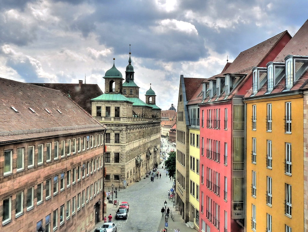 view of Nuremburg Town Hall