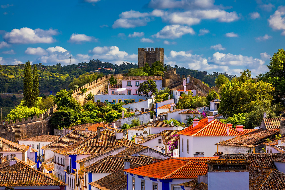 historic walled town of Obidos
