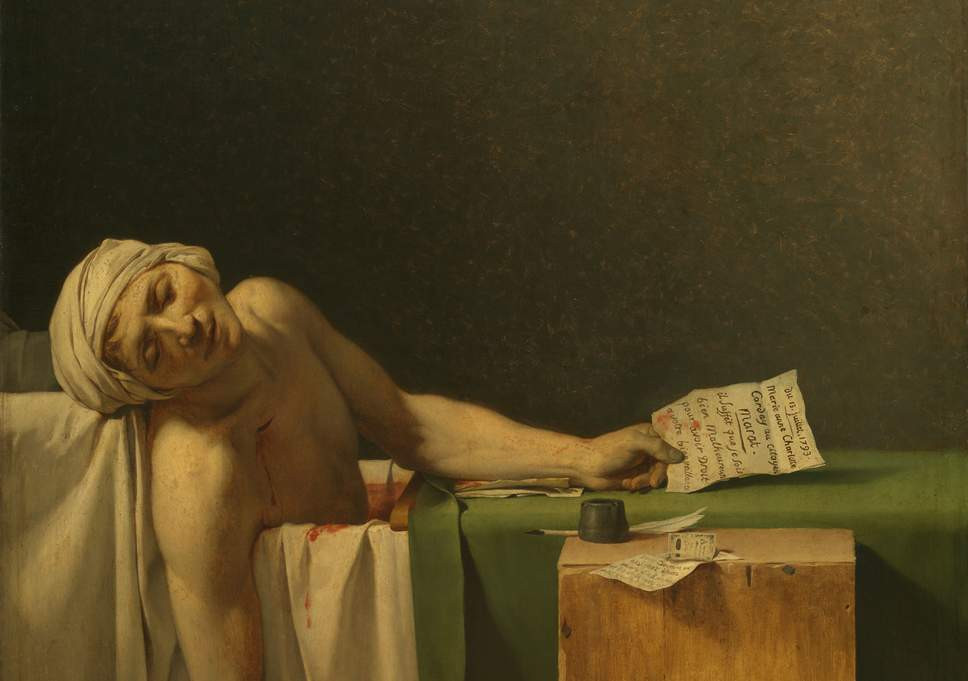 Jacques-Louis David, The Death of Marat, 1793