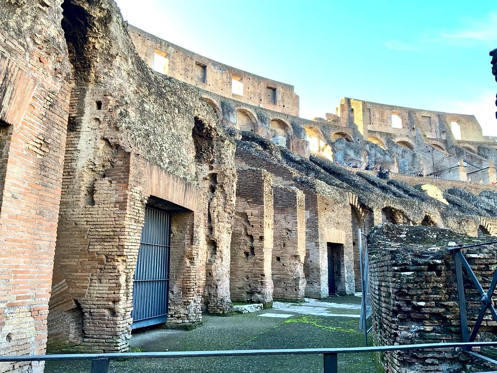 the Colosseum hypogeum
