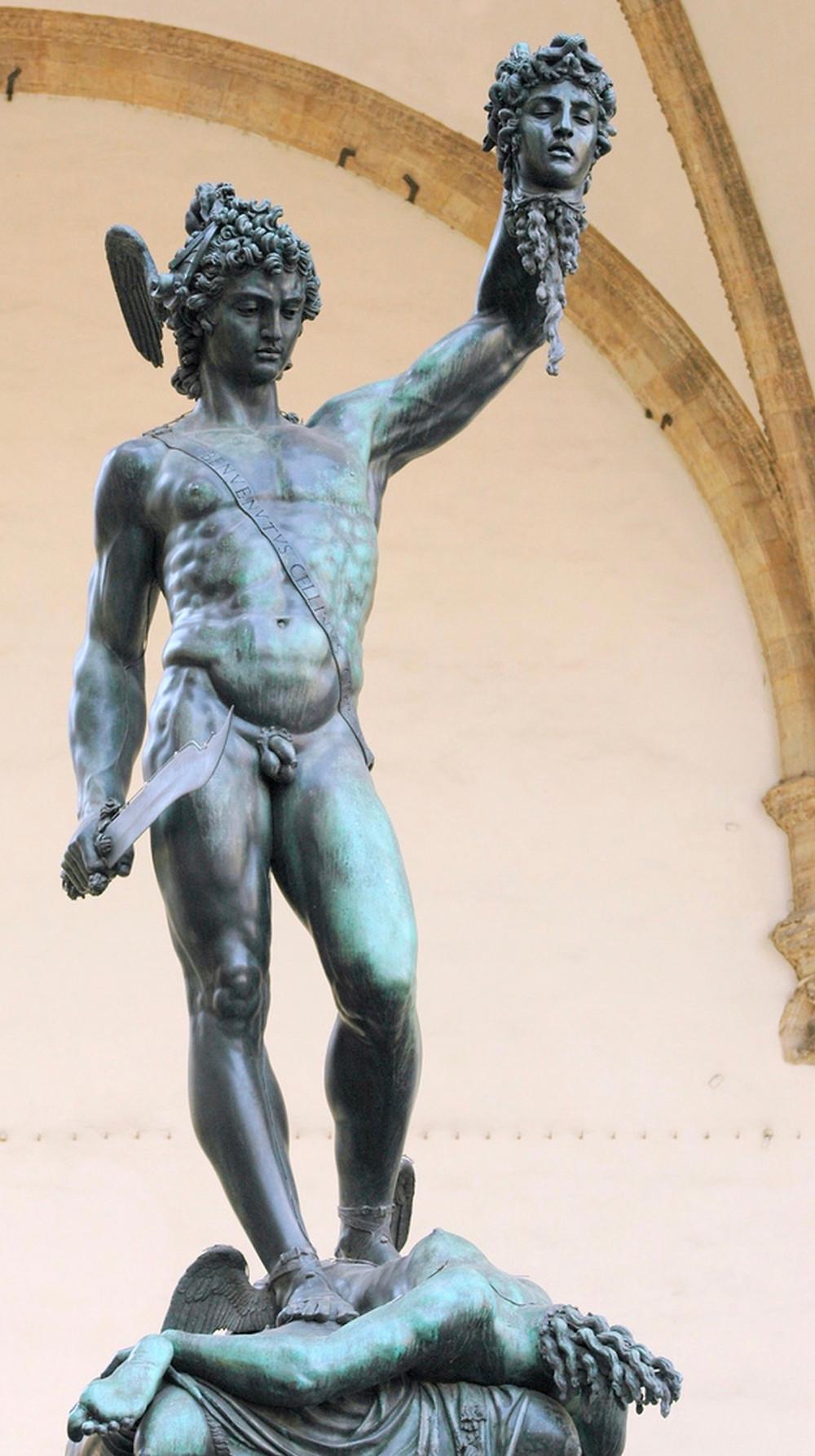 Cellini, Perseus, 1545-54