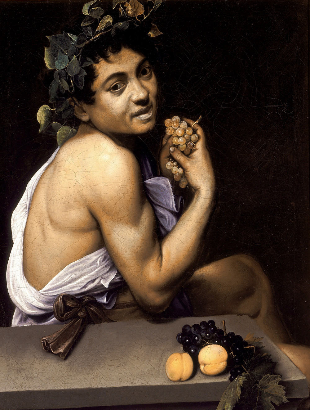 Caravaggio, Young Sick Bacchus, 1593-94