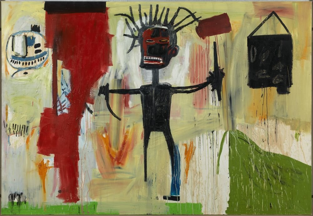 Jean-Michel Basquiat, Self Portrait, 1986