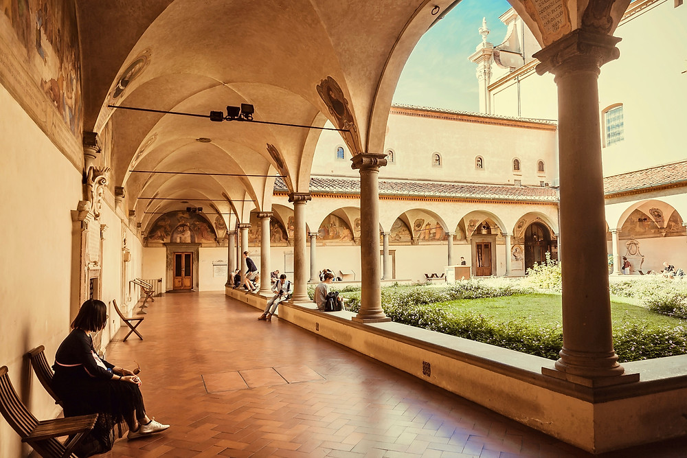 cloister of the San Marco Monastery