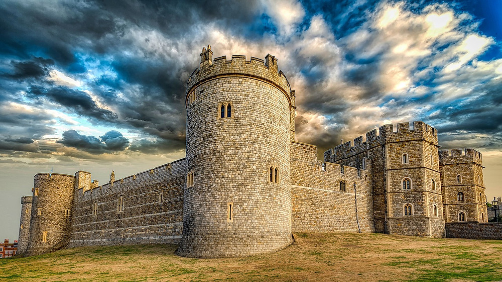 Windsor Castle walls