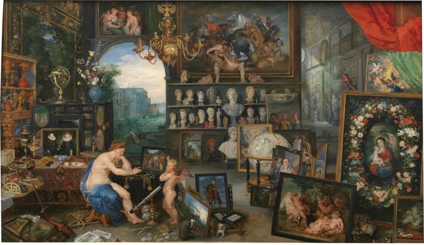 Peter Paul Rubens, The Sense of Sight, 1617