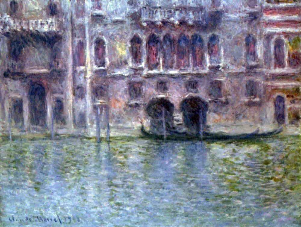 Claude Monet, Palazzo da Mula Venice, 1908