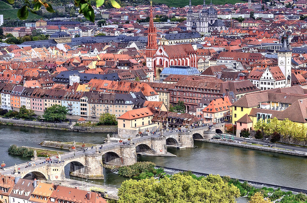 cityscape of Wurzburg