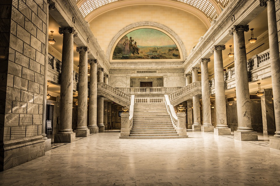 rotunda of the Utah State Capitol