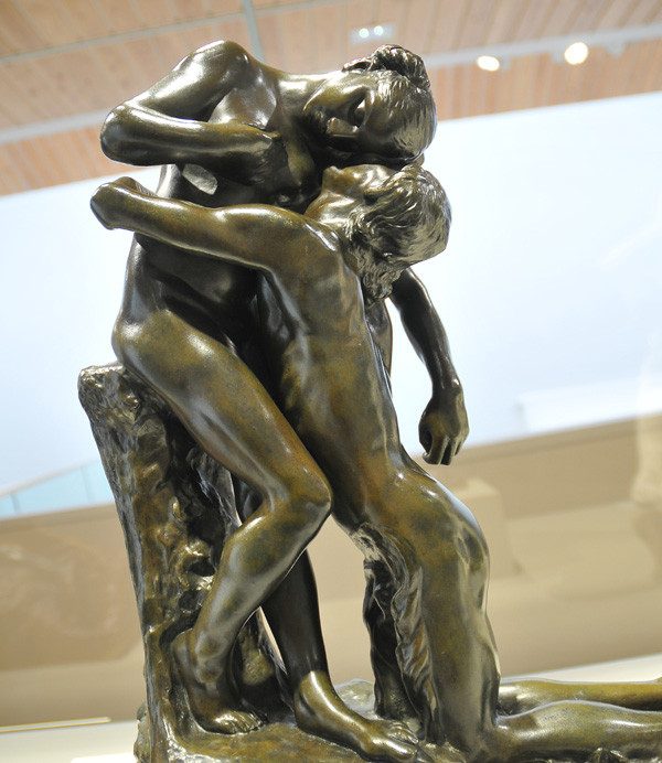 Camille Claudel, L'Abandon --posthumously bronzed from a damaged plaster