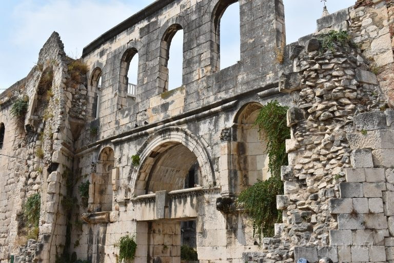 the Silver Gate in Diocletian's Palace