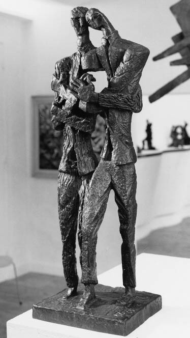 Project to a Monument to the Van Gogh Brothers, Ossi[p Zadkine, 1963