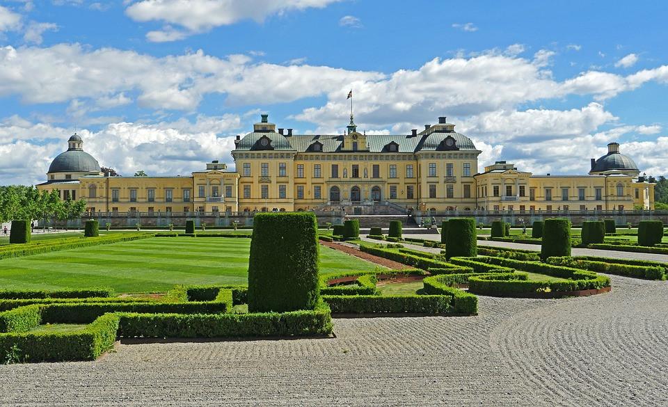 Drottningholm Royal Palace in Sweden