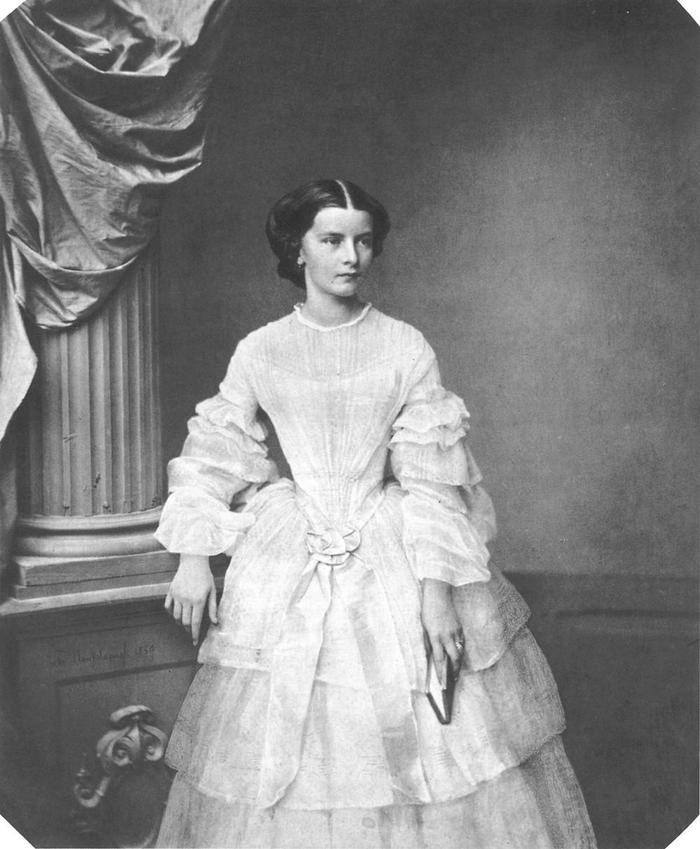 a young Elisabeth