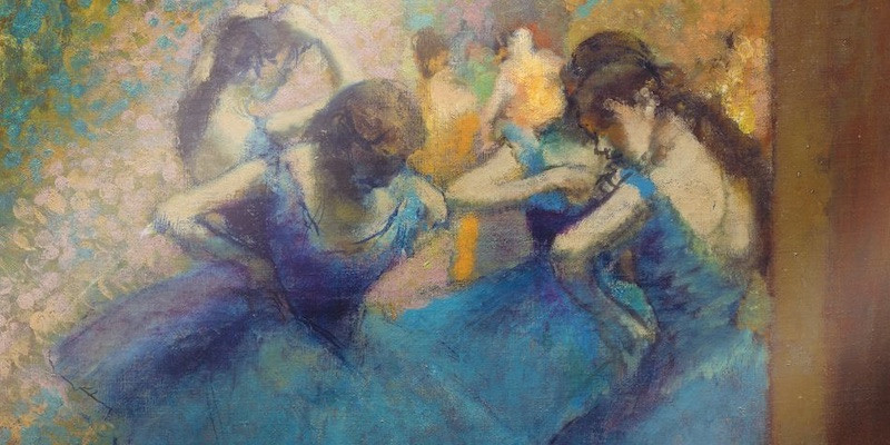 Edgar Degas, Blue Dancers, 1893