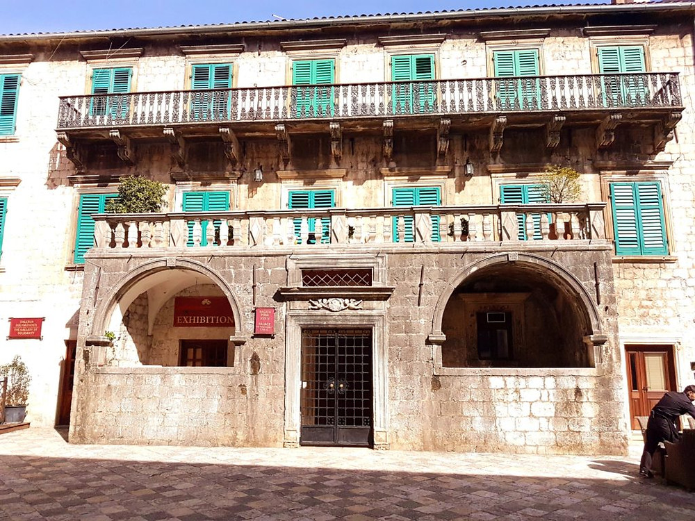 Pima Palace on Flour Square in Kotor