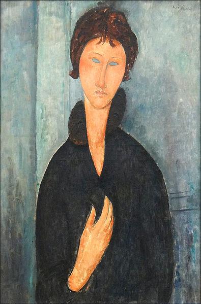 Femme aux Yeux Bleus by Amedeo Modigliani, 1918